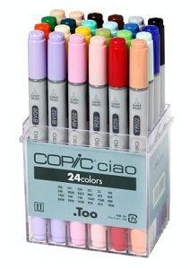 Copic Ciao set, 24 colors