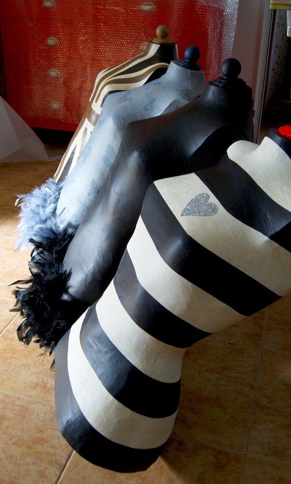 47 best diy maniquies images on pinterest dress form - La factoria plastica ...