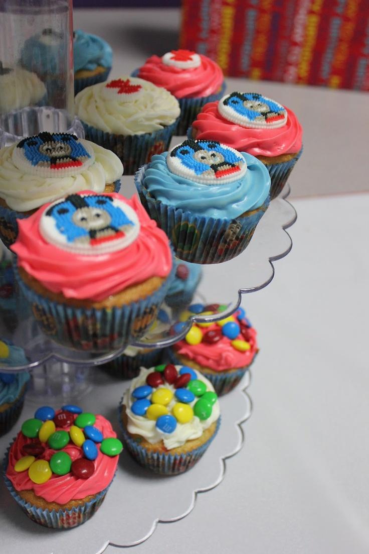 Train Cupcake Ideas