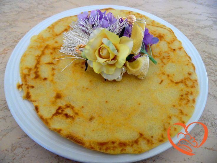 Crepes senza uova http://www.cuocaperpassione.it/ricetta/43371f4c-9f72-6375-b10c-ff0000780917/Crepes_senza_uova