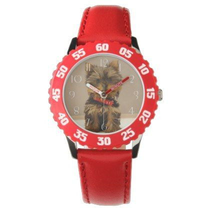 #Cute Yorkshire Terrier Wristwatch - #yorkshire #terrier #puppy #terriers #dog #dogs #pet #pets #cute #yorkshireterrier