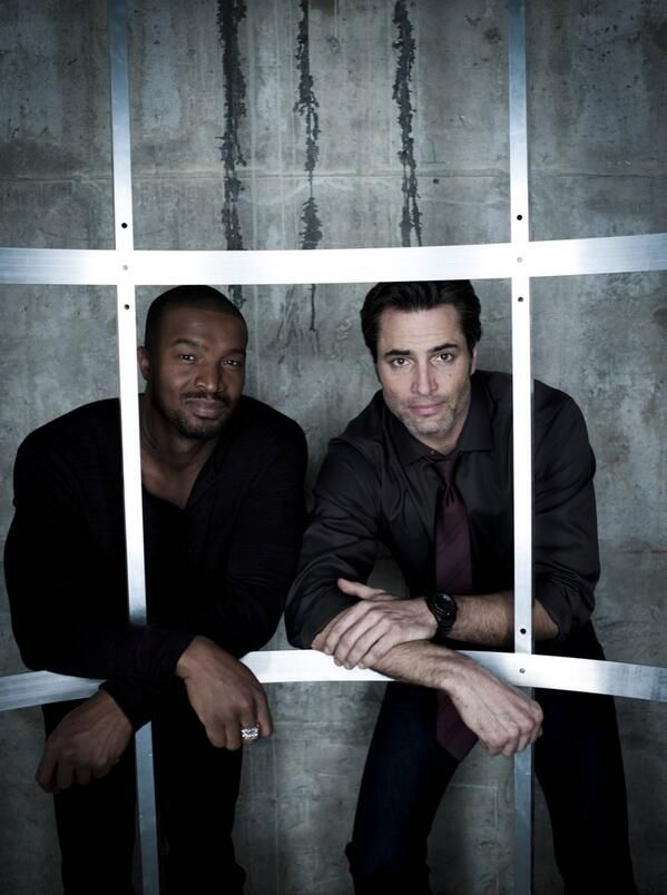 Roger Cross and Victor Webster of Continuum (via @ContinuumFR on Twitter)