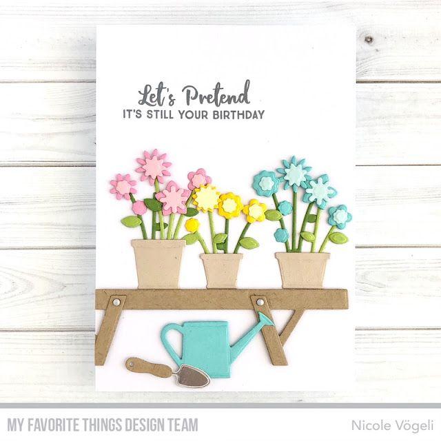 Spring Garden MFT May Vault in 2020 | Spring garden, Flower cards ...
