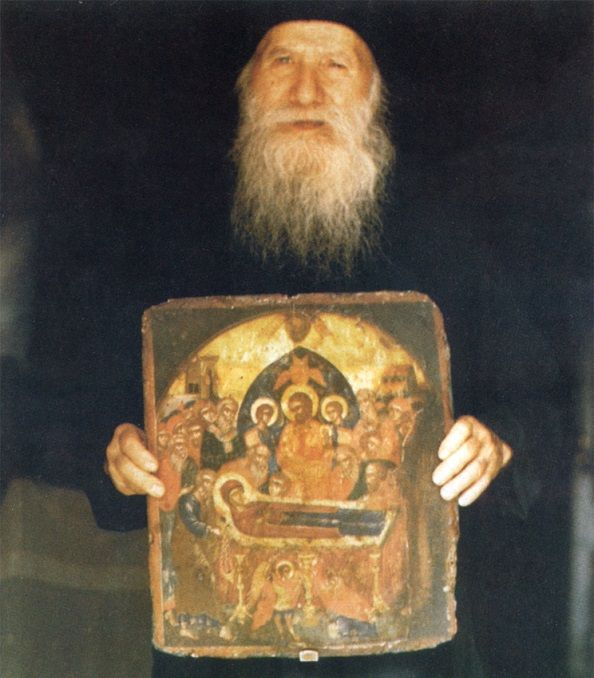 Holy Elder Porphyrios (Bairaktaris) of Kafsokalivia