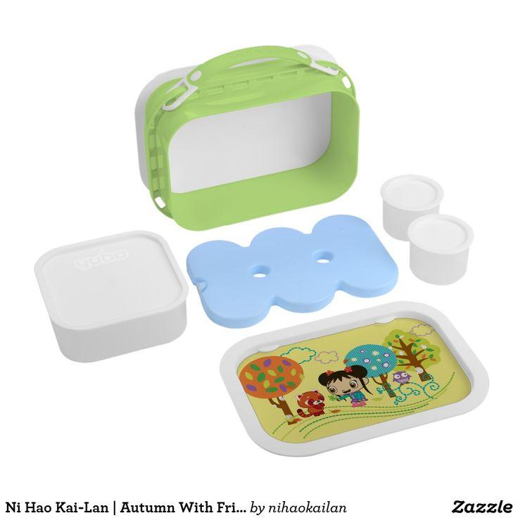 Ni Hao Kai-Lan | Autumn With Friends. Producto disponible en tienda Zazzle. Product available in Zazzle store. Regalos, Gifts. #lonchera #LunchBox