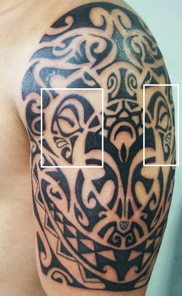 171 best tribal tattoo images on pinterest tattoo ideas for Polynesian tiki tattoo