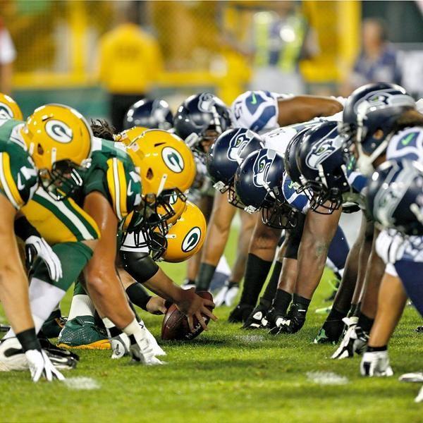 Seahawks vs Greenbay ! I AM Ready!!!