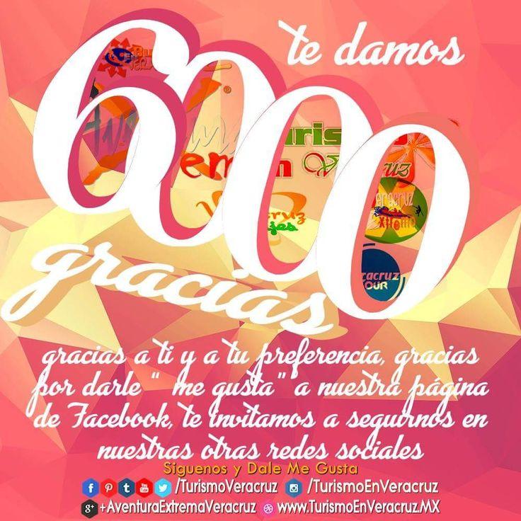 Te damos 6000 #gracias por tu #preferencia, por darle #megusta a nuestra página de #facebook, te invitamos a #seguirnos en nuestras otras redes sociales:  #Instagram https://www.instagram.com/turismoenveracruz/ #Twitter https://twitter.com/turismoveracruz/  #Youtube https://www.youtube.com/user/ricardomr83 #Tumblr http://turismoveracruz.tumblr.com/ #Pinterest https://www.pinterest.com.mx/turismoveracruz/ #Flickr https://www.flickr.com/photos/turismoenveracruz #Facebook…