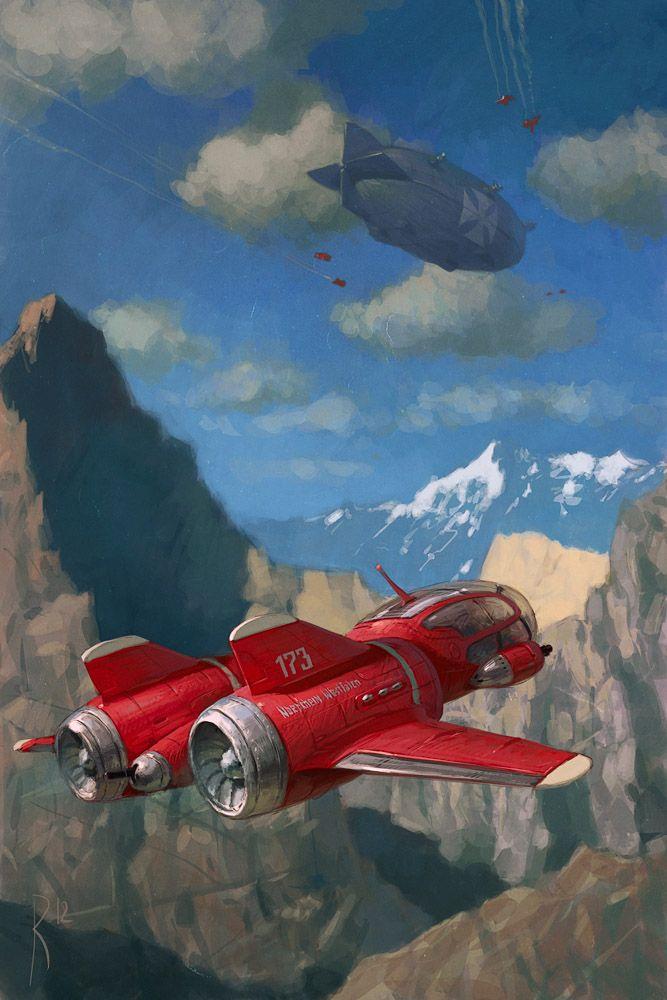 Atompunk Jet