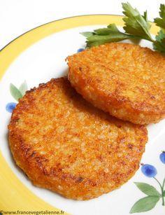 Galettes de courge (végétalien, vegan) — France végétalienne