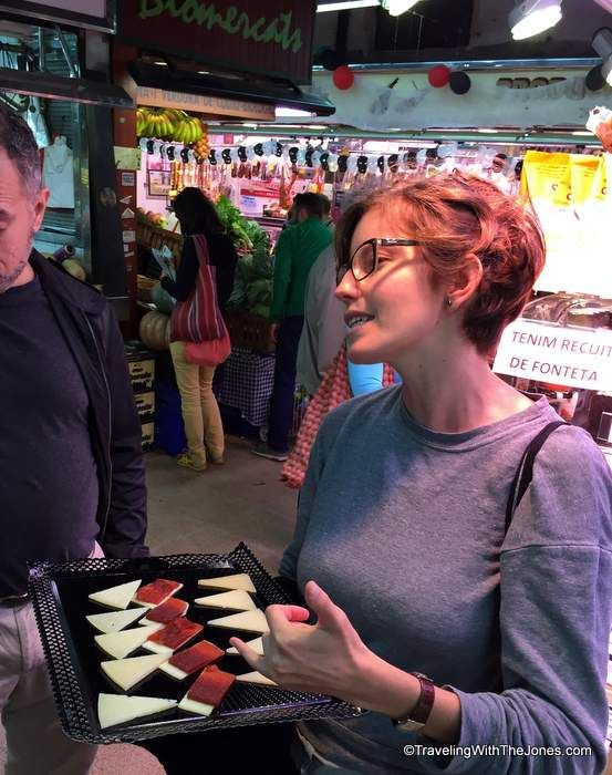 cheese tasting, Devour Barcelona Food Tour