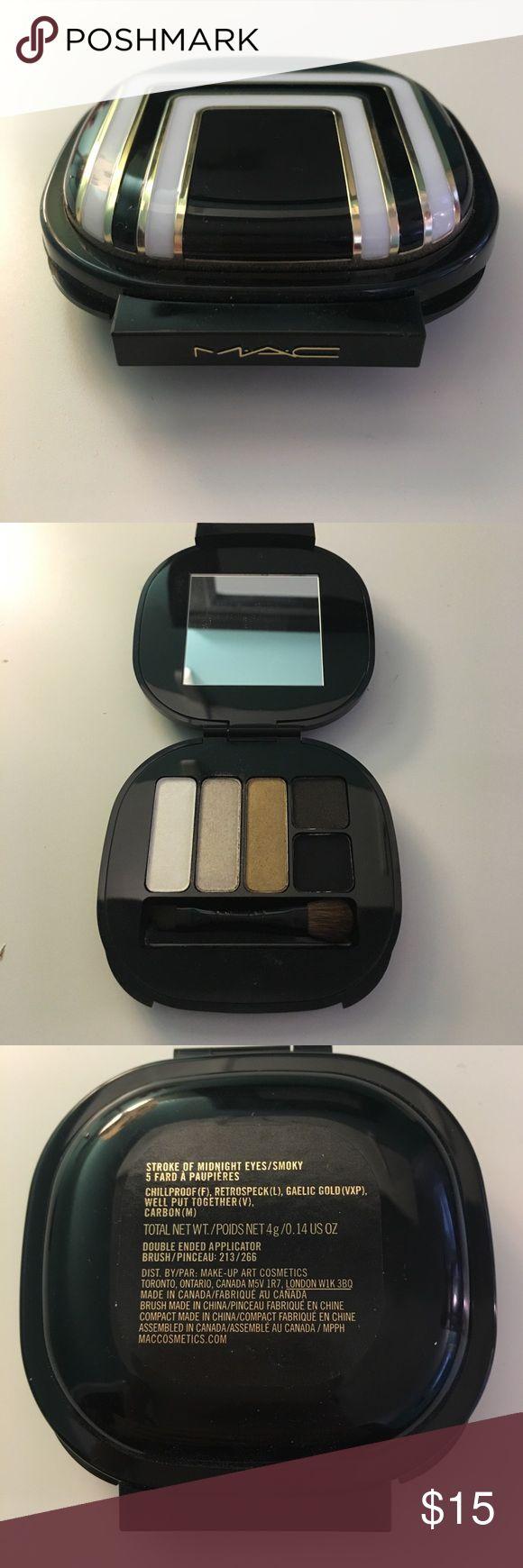 MAC eyeshadow palette Never used! Great condition! MAC Cosmetics Makeup Eyeshadow