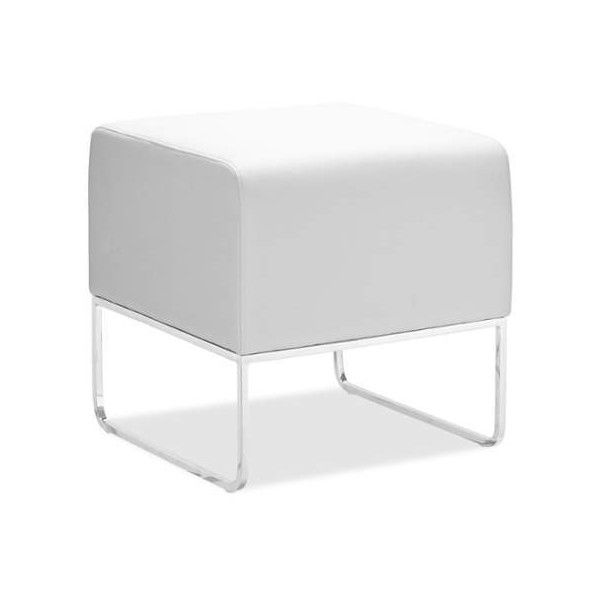 Zuo Modern Plush Ottoman Plush Contemporary Ottoman White Furniture ($138) ❤ liked on Polyvore featuring home, furniture, ottomans, rectangle, white, outside furniture, outdoor furniture, contemporary ottoman, rectangular ottoman and zuo furniture