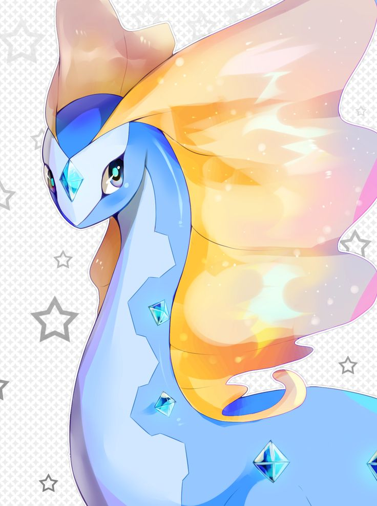Aurorus you're so majestic ☆~ Probably one of my favorite pokemon :)