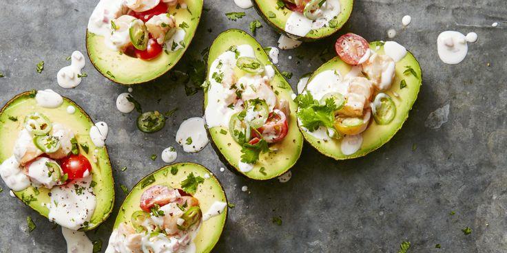 Citrusy Shrimp-Stuffed Avocados - GoodHousekeeping.com