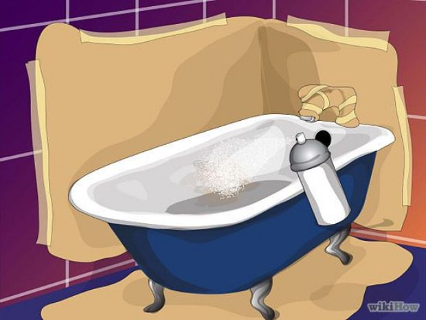 Paint The Bathtub With Images Tub Refinishing Painting
