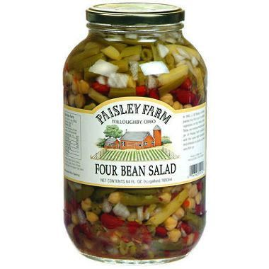 Four Bean Salad (Costco): This a great side dish that goes ...