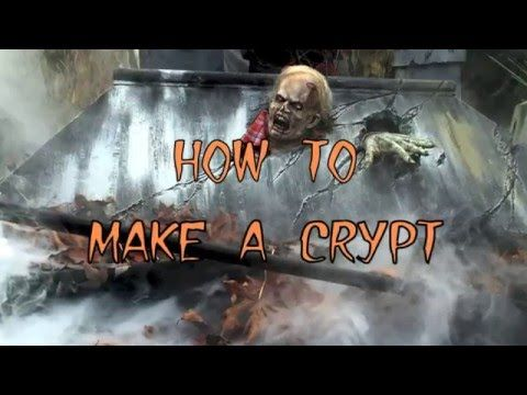 making a crypt for halloween youtube - Youtube Halloween Crafts