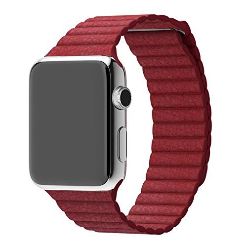 Mobiletto Apple Watch 42mm Magnetic Loop Armband rot - http://geschirrkaufen.online/mobiletto/mobiletto-apple-watch-42mm-magnetic-loop-armband-6