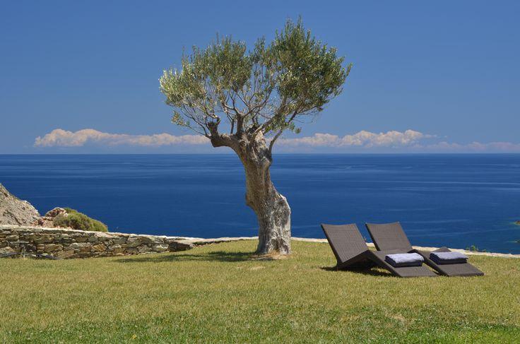 Aegea Blue Cycladic Resort- Views from the Grand Blue Villa
