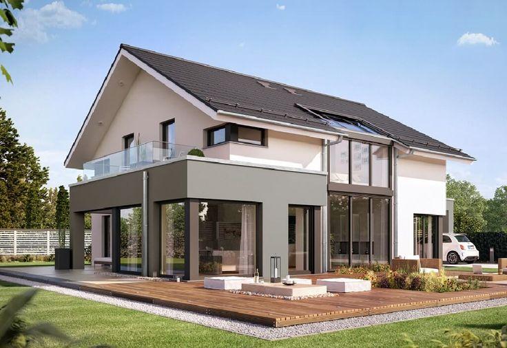 CONCEPT-M München Mod-Classic V2 - Bien Zenker. Mit dem CONCEPT-M München Mod-Classic V2 bietet die Firma Bien Zenker ein großes und modernes Einfamilienhaus mit Satteldach. Auf über 200 Quadratmetern kö