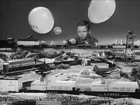 Lionel Toy Trains Commercial - 1960's Educational Film  - S88TV1