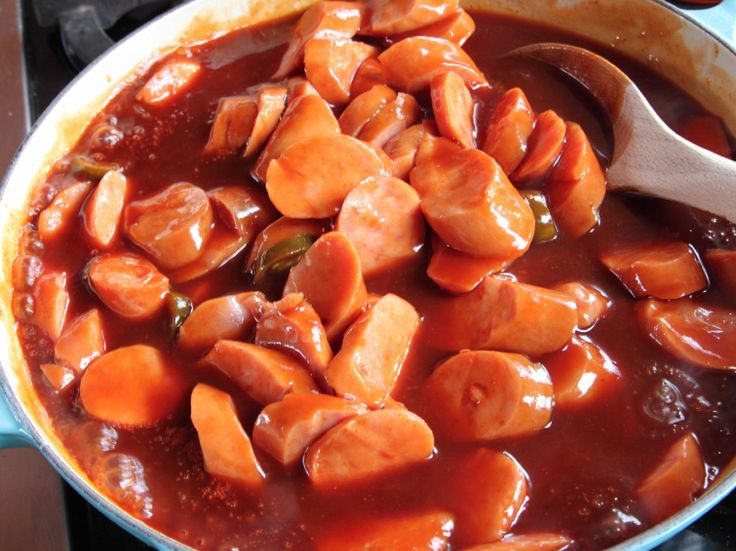 Smoked Sausage in BBQ Sauce Recipe : Ree Drummond : Food Network - FoodNetwork.com
