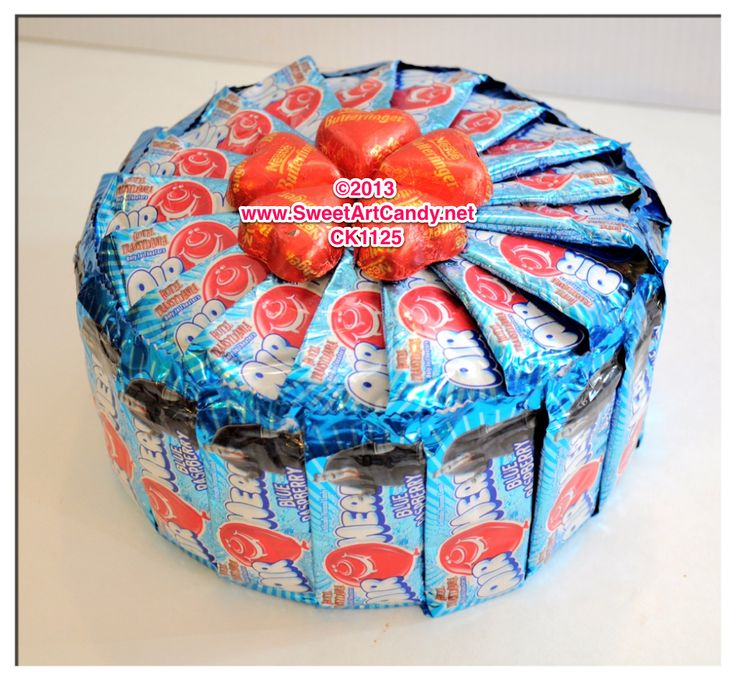 Ck1125 Airhead Hearts Cake