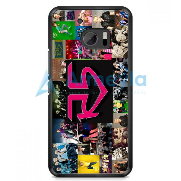 Ross Lynch R5 Band Collage HTC One M10 Case | armeyla.com