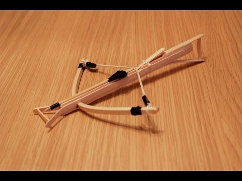 How To Make A Powerful Mini Bow