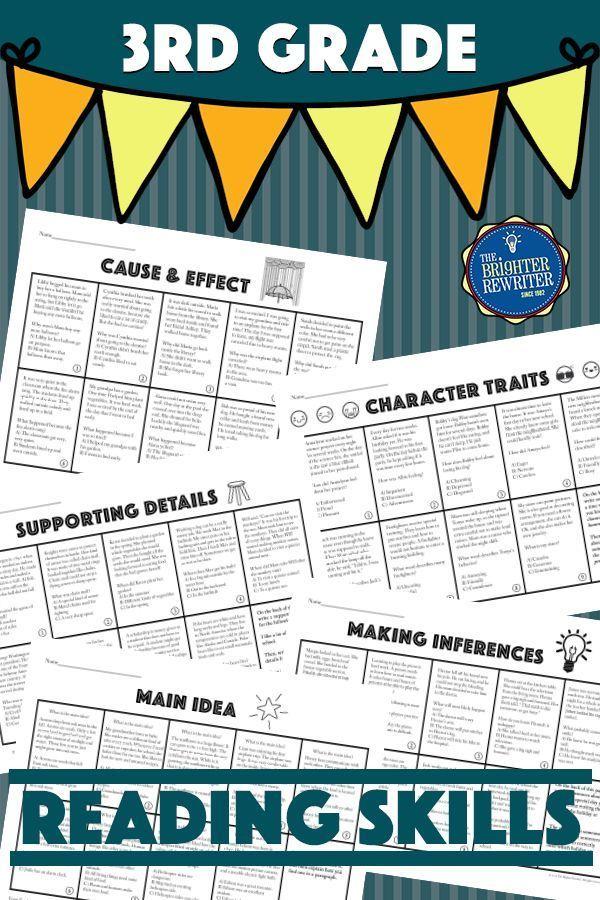 Test Prep Reading Skills Worksheets | Tutoring Worksheets | Test ...