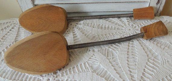 Vintage Shoe Stretchers Wooden Shoe Lasts Shoe Storage