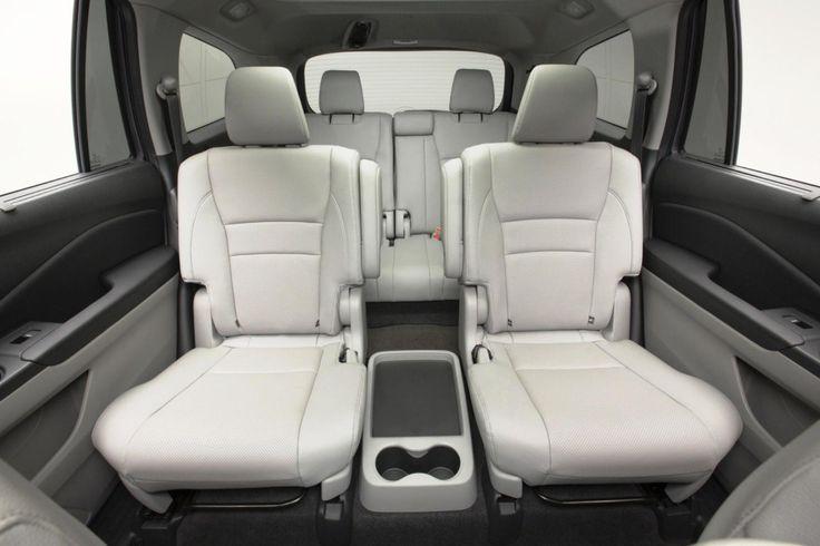 2017 Honda Pilot changes interior seats