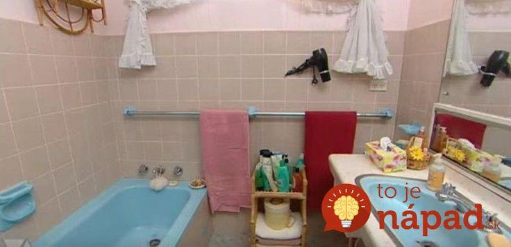 Žena nemala dosť peňazí na renováciu kúpelne. Takto geniálne si poradila!