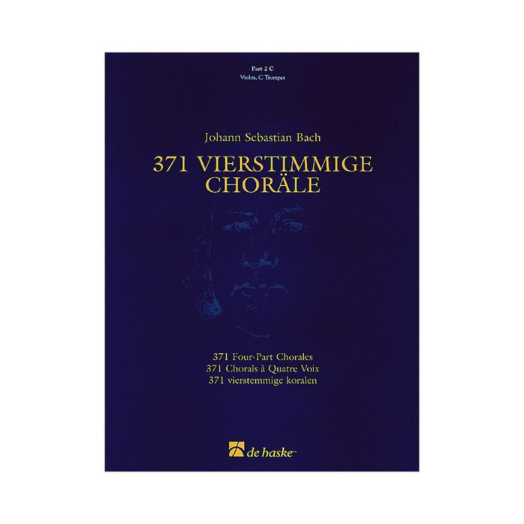 De Haske Music 371 Vierstimmige Chorle (Four-Part Chorales) Concert Band Level 3 Composed by Johann Sebastian Bach