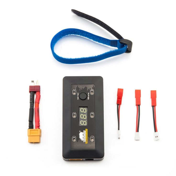 BoldClash P01 WhooPower1S LIHV/LIPO Charger Switchable Charging Board MAX 1A MCPX MCX MOLEX Charge 6 Battery Black