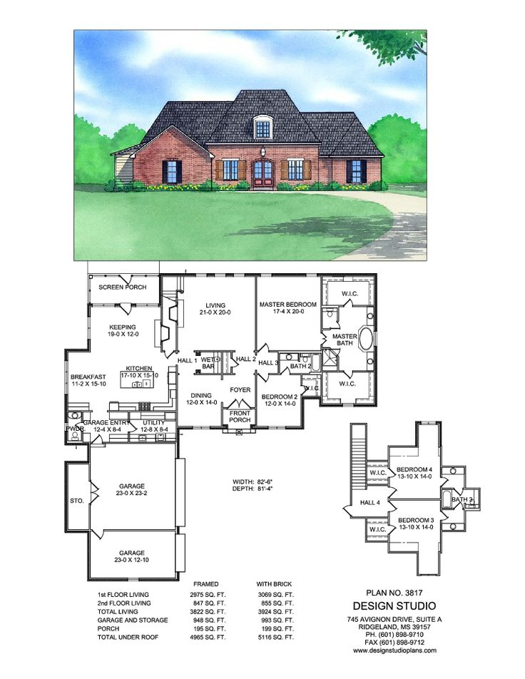 Plan #3817   Design Studio