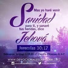 Resultado de imagen para jeremias 30:17