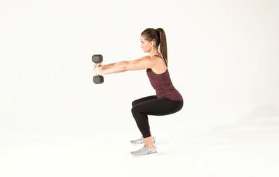 This Squat Variation Is The Hardest Move You'll Try All Week  http://www.womenshealthmag.com/fitness/fitgif-friday-squat-press?utm_campaign=DailyDose