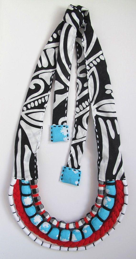 Custom Made Baby Friendly MultiStrand Necklace by monkeyandmum