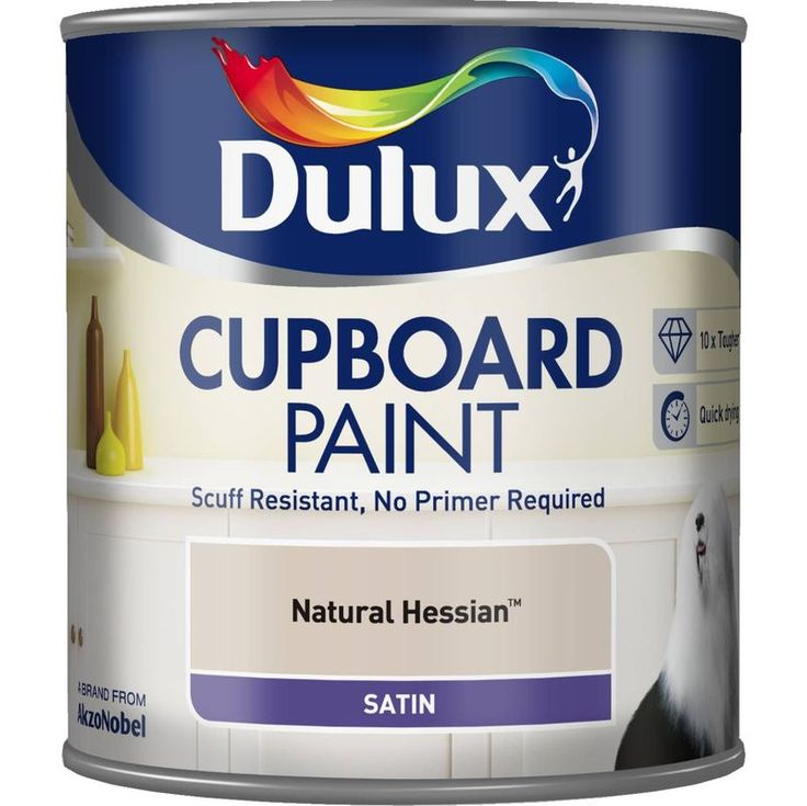 Dulux Cupboard Paint 600ml - Different colours - 5091250 - Flooring, painting and decorating