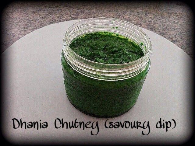Dhania Chutney (dip)