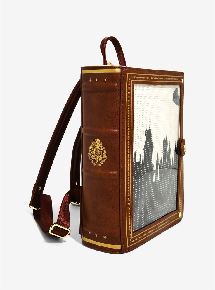 Loungefly harry potter hogwarts book pin collector mini