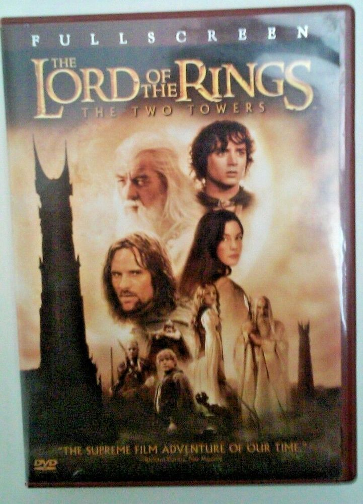 The Lord of the Rings: The Two Towers (DVD, 2003, 2-Disc Set, Full Frame Two Di…