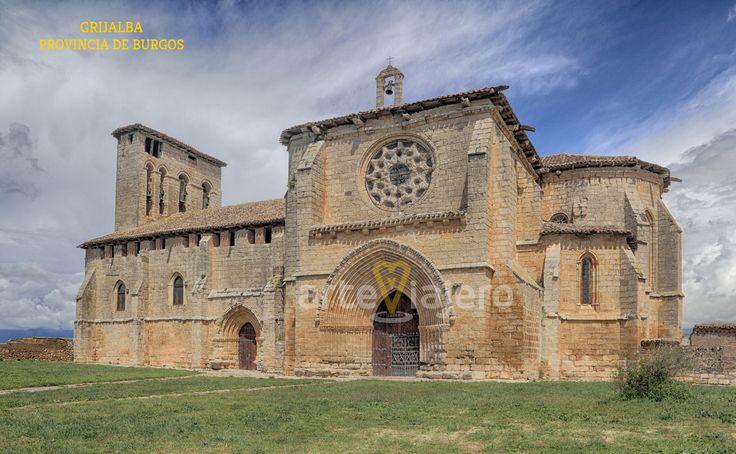 Grijalba, Burgos. Iglesia de Santa María de los Reyes, estilo gótico