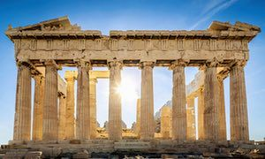 The Parthenon temple in Athens, which was originally painted in bright colours. Photograph: Getty Images. What's So Great About the Eiffel Tower? 70 Questions That Will Change the Way You Think About Architecture by Jonathan Glancey – review   Books   The Guardian