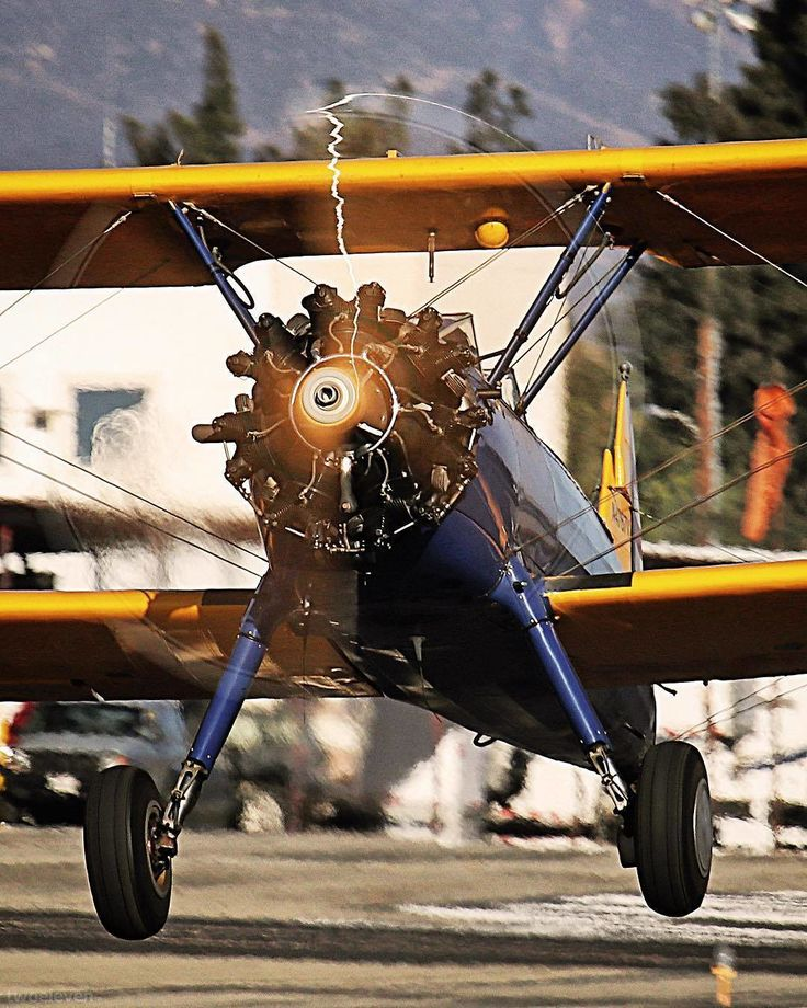 Powered by a Continental W670. | Photo by @twoeleven_aviation #ContinentalMotors #pilot #pilotlife #aviation #radial #aviator #aviators #flighttraining #aviatorflighttraining #warbird #planespotter #fly #flying #planespotting #biplane