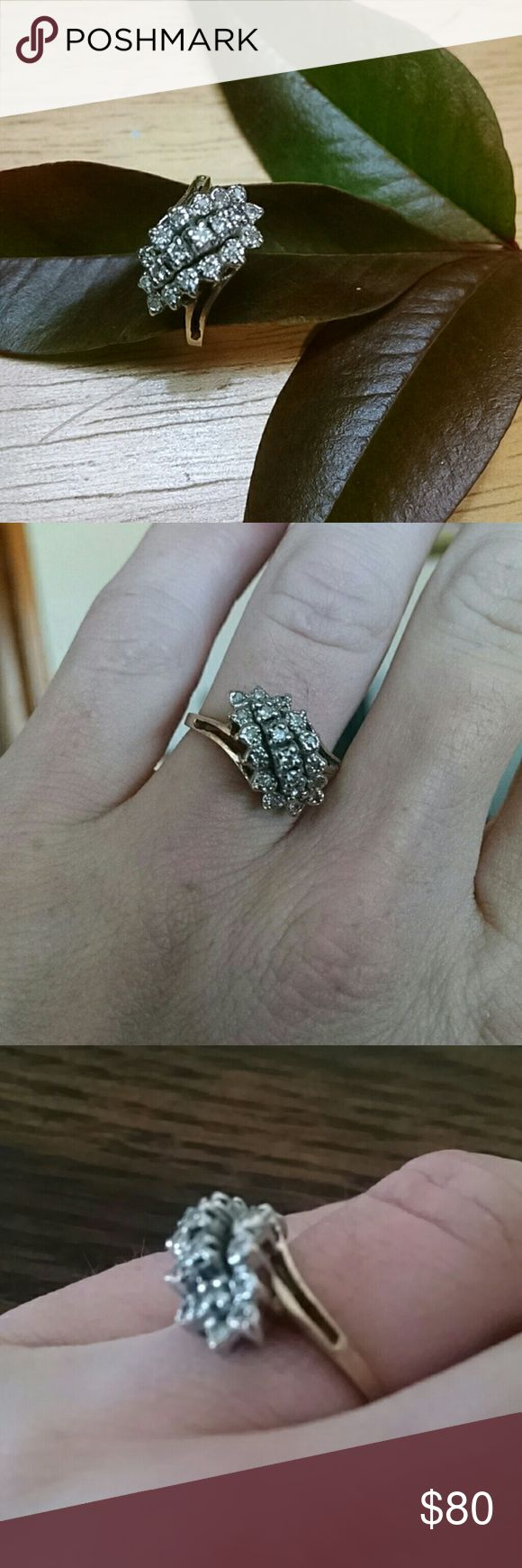Diamond ring price firm This ring was handed down to me when I turned 21. I wear a size 7 and it fits my ring finger perfect It is indeed a jewel. Its worth a hell of a lot more than what I am selling it for however I know it needs to go to someone who will actually wear it more than I will. Please do not low ball this ring. Price is firm unless bundled with other items. Thank you in advance. Jewelry Rings
