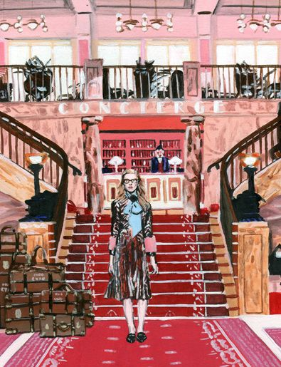 WW Magazine - Alice Tye Illustration