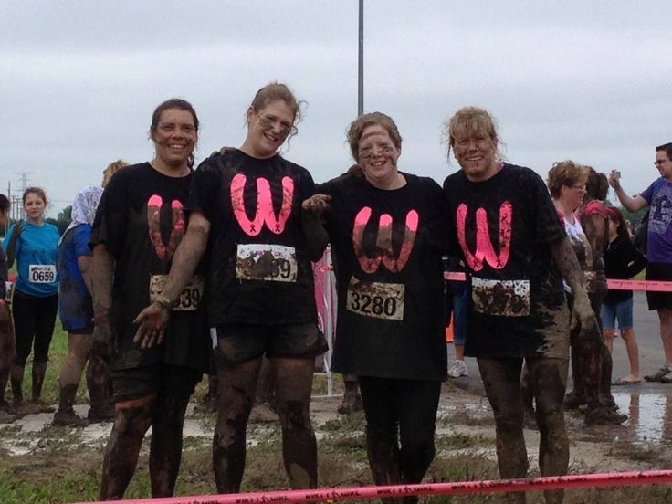 9 Best 5k Mud Run Dirty Rugged Maniac Race Arel And Team Images On Pinterest